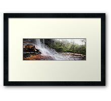Weeping Rock Framed Print