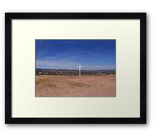 ©MS The Cross IAc Framed Print