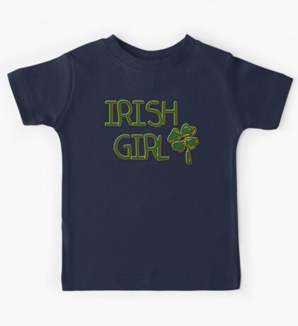 Irish Girl Kids Tee