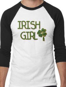Irish Girl Men's Baseball ¾ T-Shirt