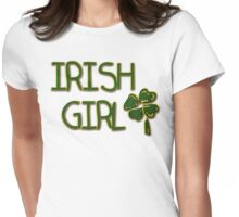 Irish Girl Womens Fitted T-Shirt