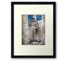 St. George The Dragon Slayer Framed Print