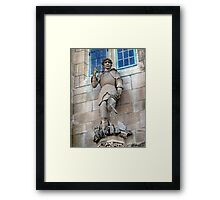 St. George The Dragon Slayer Framed Print