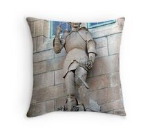 St. George The Dragon Slayer Throw Pillow