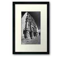 ©MS Minster Tlalpujahua IICD Monochromatic Framed Print
