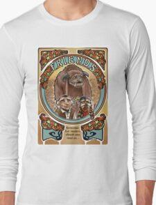 Labyrinth Art Nouveau Tribute Long Sleeve T-Shirt