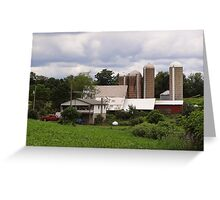 Beautiful Farmland Greeting Card