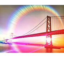 Surreal Perspective of The Bay Bridge Photographic Print