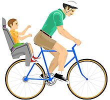 CHEAP Happy wheels irresponsible dad and little timmy Photographic Print