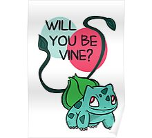 Will You Be Vine? Poster