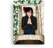 Sherlock Casket Canvas Print