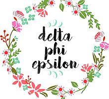 Delta Phi Epsilon Wreath by SLEV