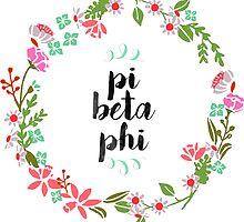 Pi Beta Phi Wreath by SLEV