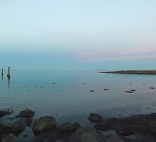 Magic at Dungeness Bay by Moonamie