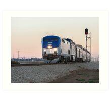 Amtrak Coast Starlight Art Print