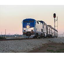Amtrak Coast Starlight Photographic Print