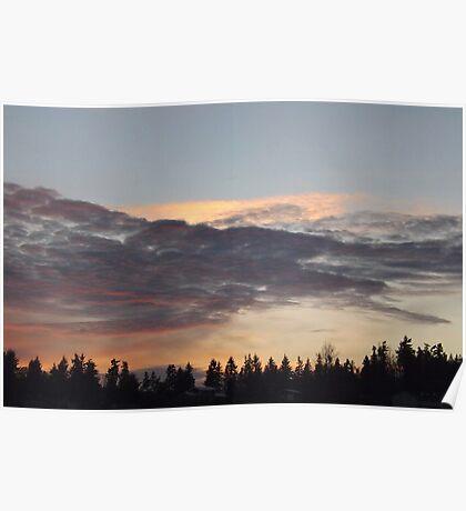 Sequim Sunset  Poster
