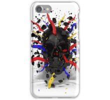 Skull Explode iPhone Case/Skin