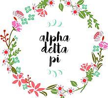 Alpha Delta Pi Wreath by SLEV