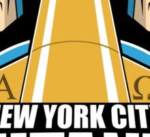 NEW YORK CITY MUTANTS Sticker