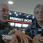 Hungry Jack and Frank by myraj