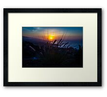 : The First Sunrise of 2014 : Framed Print