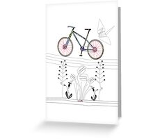 Photo Bicycle Greeting Card