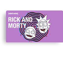 Rick and morty (waiting season 3) #2  Canvas Print