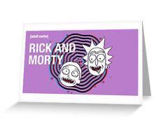 Rick and morty (waiting season 3) #2  Greeting Card