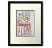 Cafe marion Framed Print