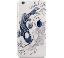 Ying Yang Koi Fish iPhone Case/Skin