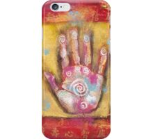 Chinese Energy Hand iPhone Case/Skin