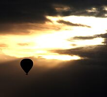 View from a Balloon by peaf