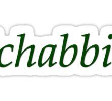 Ichabbie Sticker