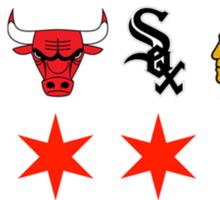 Chicago Sports Sticker