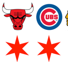 Chicago Sports 2 Sticker