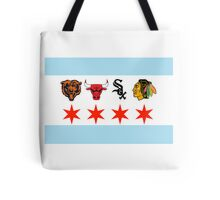 Chicago Sports Tote Bag