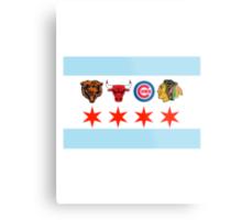 Chicago Sports 2 Metal Print