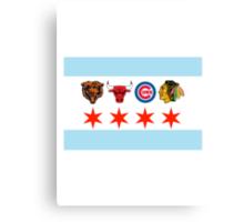 Chicago Sports 2 Canvas Print