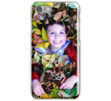 Paul in the fall iPhone Case/Skin