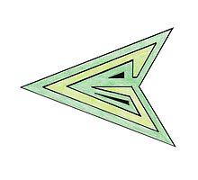 Green Arrow Symbol by BonesToAshes