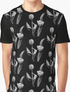 Artsy Tulips Graphic T-Shirt