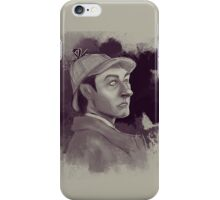 Sherlock Data iPhone Case/Skin