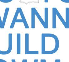 Do You Wanna Build a Snowman? Sticker