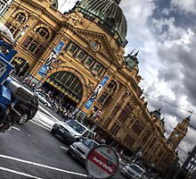 Flinders Street Station Melbourne by bjm26