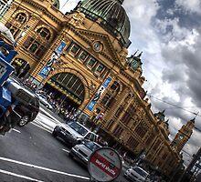 Flinders Street Station Melbourne by bjm26