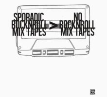Sporadic Rocknroll Mix Tapes > No Rocknroll Mix Tapes (Black) by AlbieRocknroll