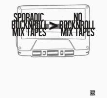 Sporadic Rocknroll Mix Tapes > No Rocknroll Mix Tapes (Black) by AlbieRocknroll