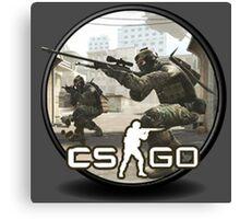 CS:GO Counter Terrorist Canvas Print