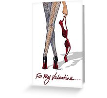 Valentine's Night Greeting Card